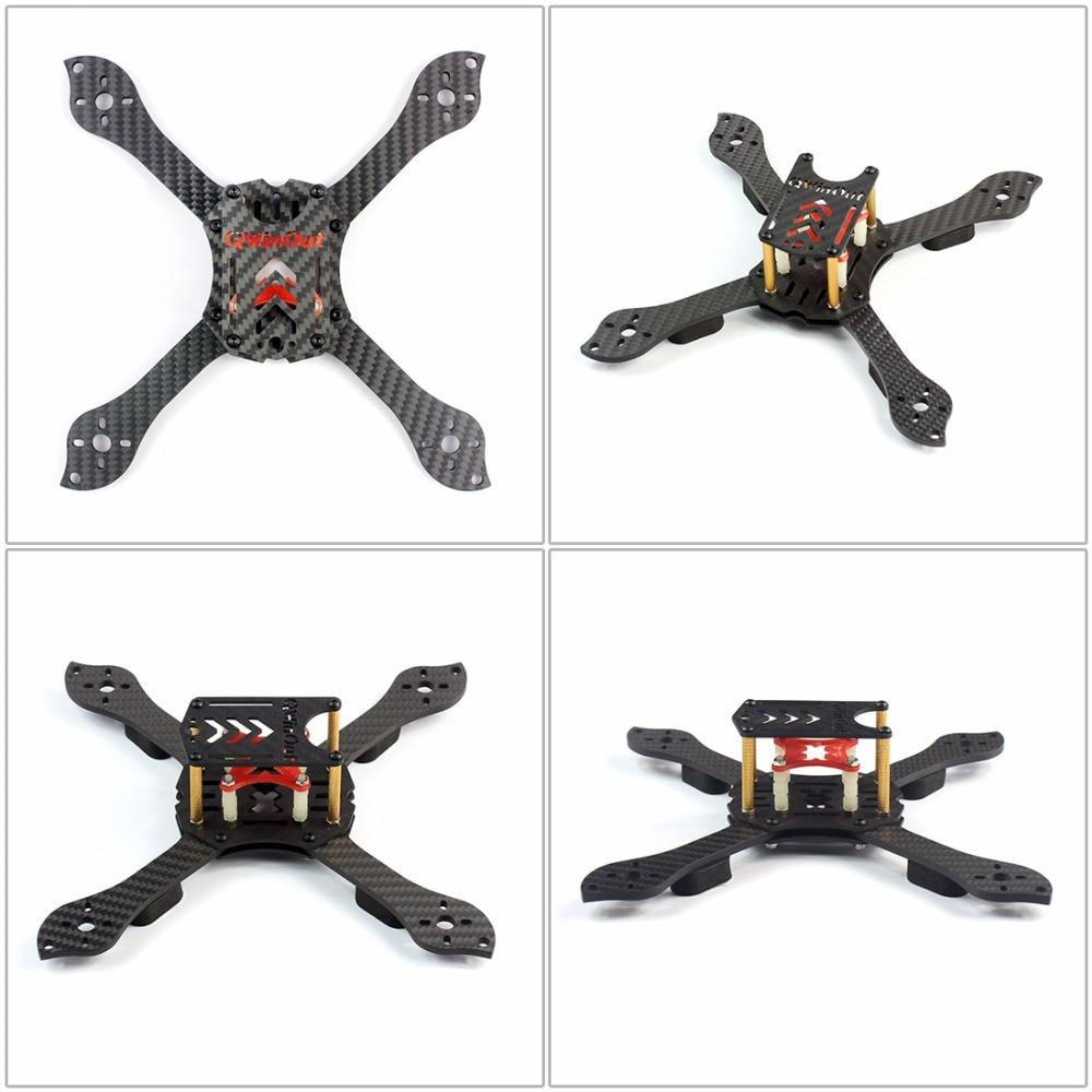 Kit de bricolage three X 3 K cadre amovible RS2306 2400KV moteur Brushless 30A ESC avec PDB pour RC FPV Racing Dshot Drone Kit pièces de rechange