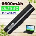 Batería del ordenador portátil para asus a32-ul20 eee pc 1201ha 1201 k 1201n 1201 T 1201X1201 1201 H UL20F UL20FT UL20A UL20 UL20G UL20GU UL20VT