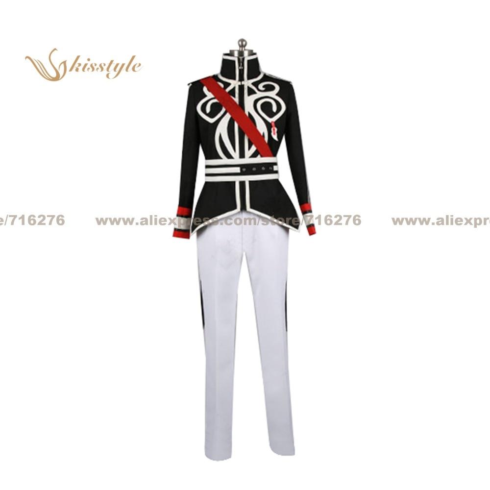 Kisstyle mode contes de l'abîme Luke fon Fabre nouvel uniforme COS vêtements Cosplay Costume, personnalisé accepté
