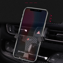 For Toyota C-HR CHR 2016 2017 2018 Car Air Vent Mount Adjustable Phone Holder Stand for Cell Mobile Phone Stable Cradle недорого