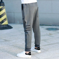 New Fashion 2017 Winter Clothes for Girls Baby Boys Trousers cotton casual Pocket Gray Kids Pants Boy Leggings Sweatpants