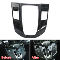 YAQUICKA Car Interior Console Gear Shift Box Panel Cover Frame Bezel Trim Styling For Honda CRV