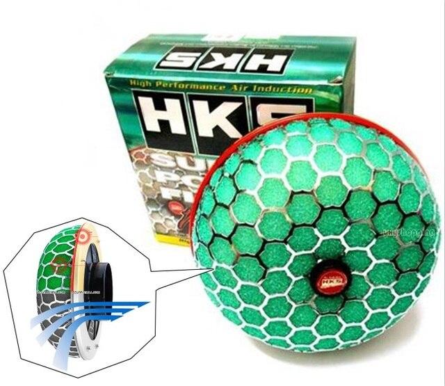 3High HKS סופר כוח אוויר מסנן זרימת 80mm צריכת Reloaded מנקה אוניברסלי