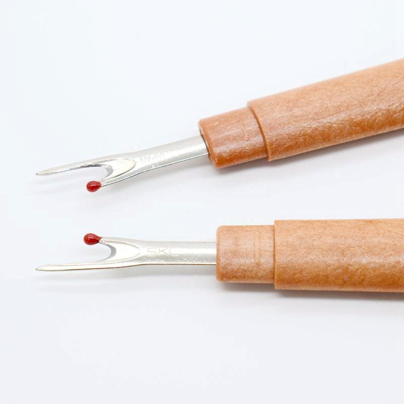 6pcs Steel Wood Handle Craft Thread Cutter Seam Ripper Stitch Unpicker Needle Arts Sewing Accessories For Cross Stitch Tools