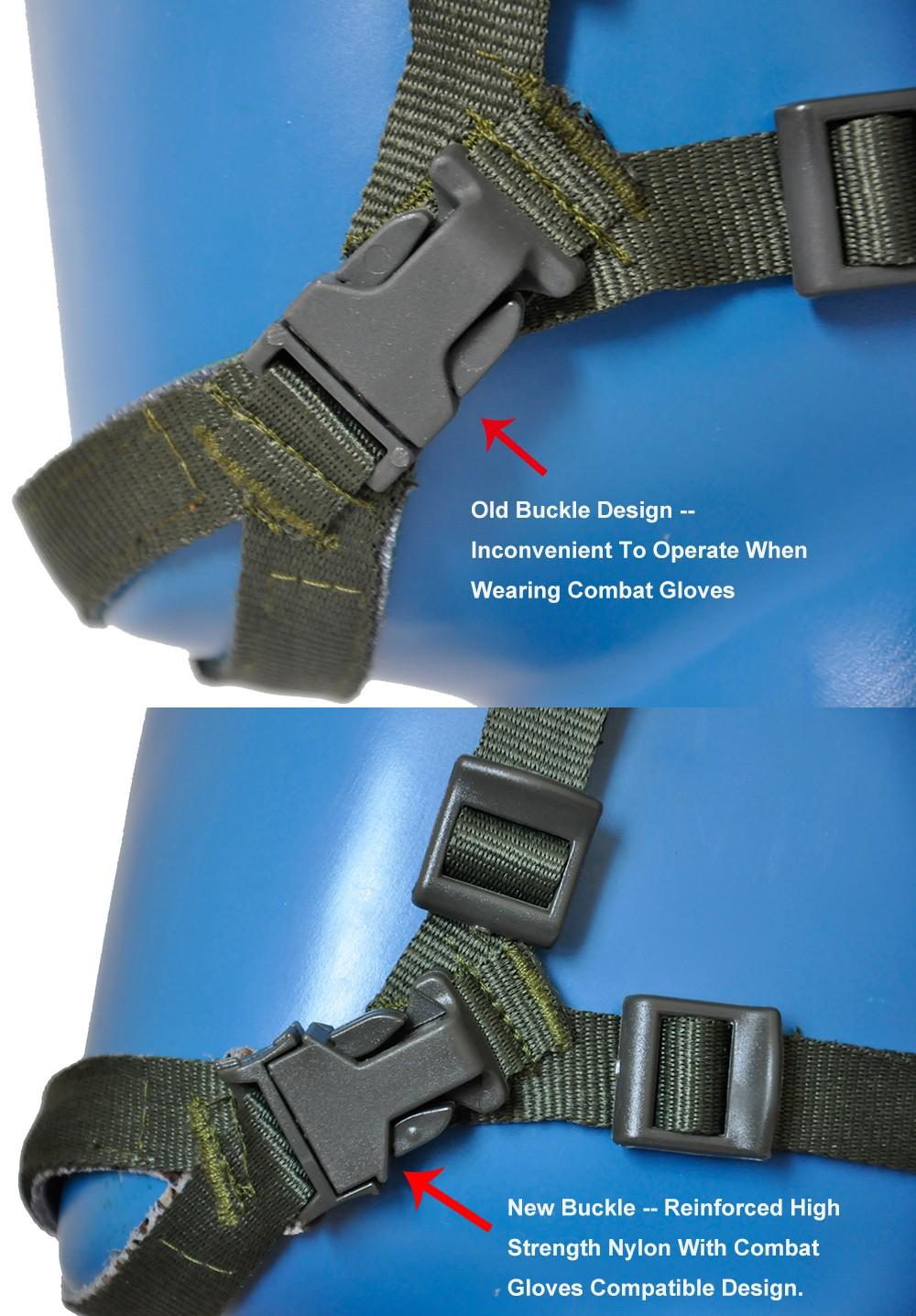 Green Buckles Comparison