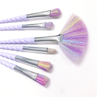 New Arrival 10PCS Makeup Brushes Set Iridescent Color High Quality For Professiona Makeup Tools Free Shipping