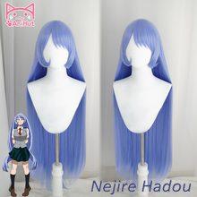 Anianimut】meu herói academia nejire hadou cosplay peruca boku nenhum herói academia cosplay cabelo big3 cosplay