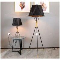 Floor lamp Table Lamp Nordic postmodern living room bedroom hotel simple creative metal tripod fabric lamp LM5131114py