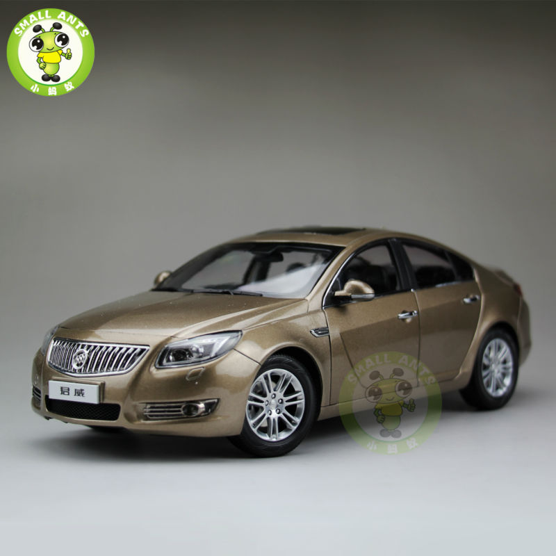 1:18 GMC Buick Regal Diecast Car Model Toys for gifts collection hobby Gold topshop topshop to029ewhts09