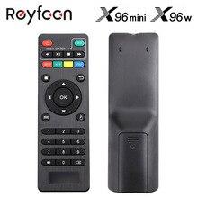 מקורית עבור X96 X96mini X96W אנדרואיד הטלוויזיה Box IR מרחוק בקר עבור X96 מיני X96 X96W סט למעלה תיבה