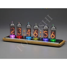 Omnixie glow uhr ultra-dünne smart WIFI UNS NL5441 rohr uhr digitale uhr(China)