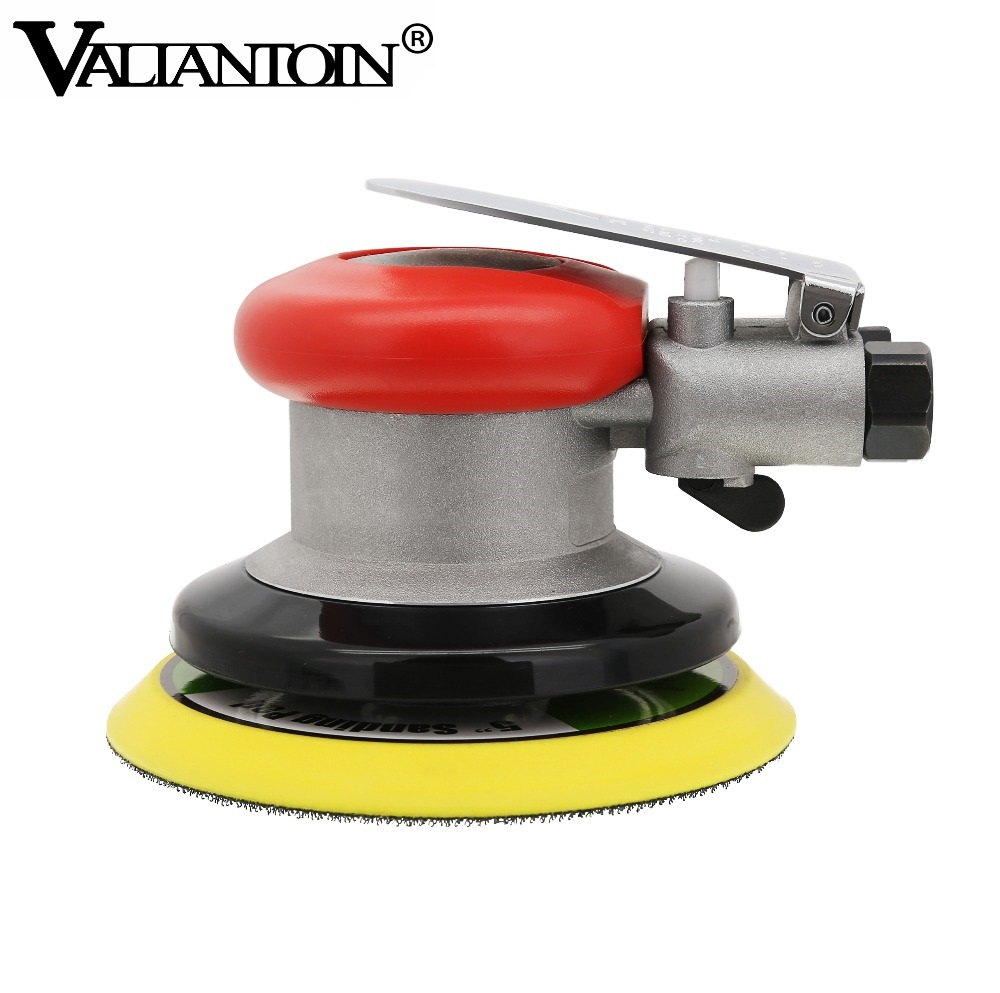 5 Inches Pneumatic Air Sander PRIMA Dual Action Polishing Machine Use 125 MM Sanding Discs High