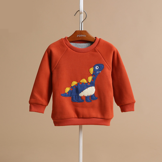 Velvet Kids Baby Clothes Hoody Sweatshirts For Boy Children's Sweatshirt Moleton Infantil Sports Suit Svitshot Clothing For Boys