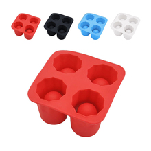 4 Ice Shot Cup Silicone Mold