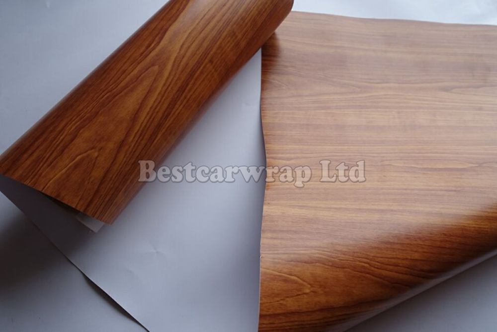 Brown Wood Vinyl Car Wrap Grain Film With Air Release Full Styling Graphics Size 1 52 20m Roll On Aliexpress Alibaba Group