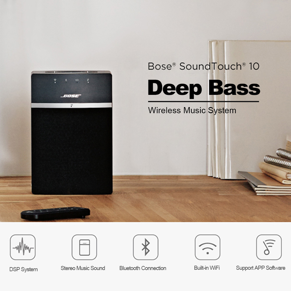 BOSE SoundTouch 10 Wireless Bluetooth Speaker Stereo Music Home ...