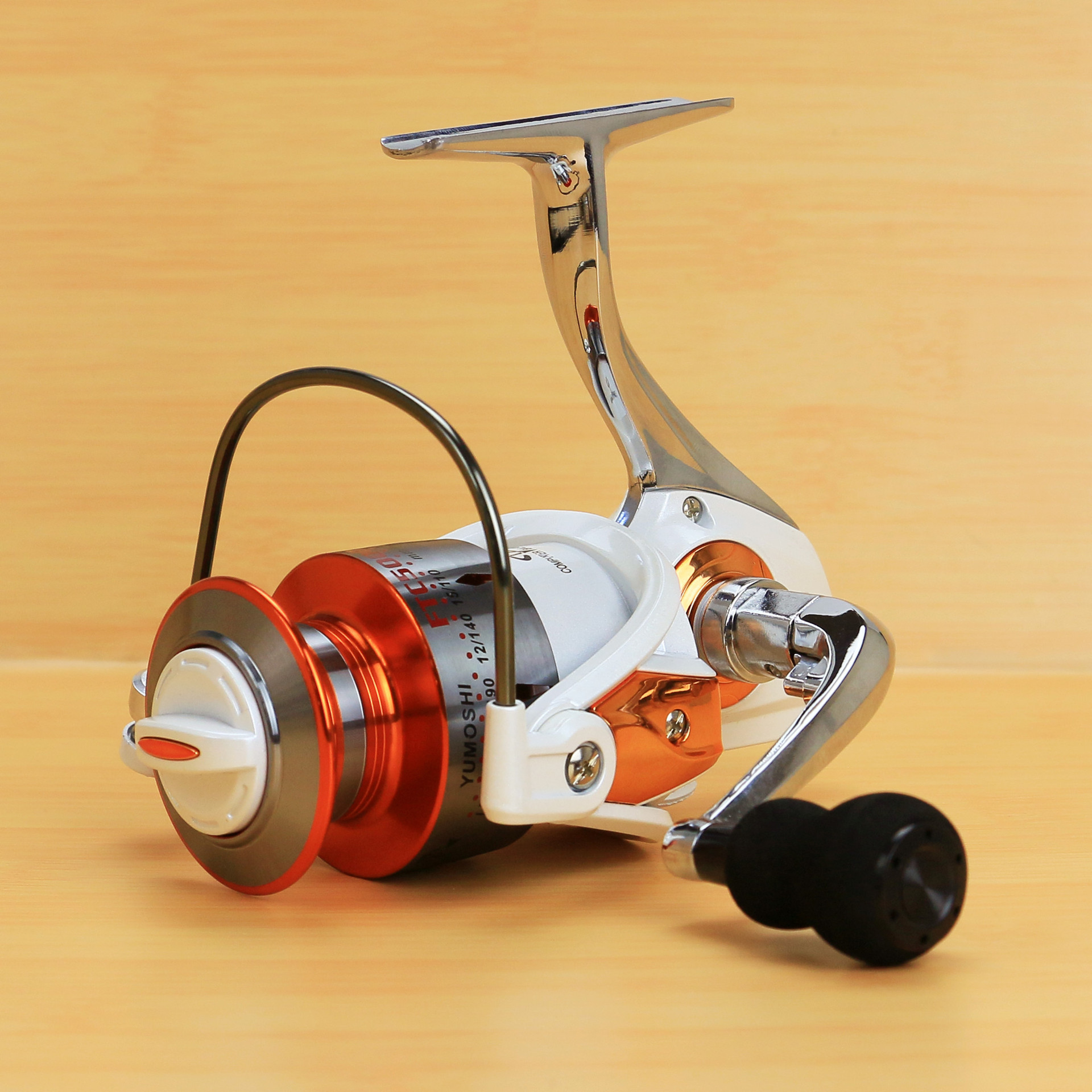 FTC series all-metal reel seat fishing reel EVA metal handle 13 bearings ...