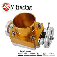VR RACING - NEW THROTTLE BODY 80MM THROTTLE BODY PERFORMANCE INTAKE MANIFOLD BILLET ALUMINUM HIGH FLOW VR6980