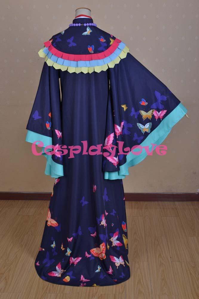 Kamisama Love Hajimemashita Nanami Momozono Kimono Cosplay Costume (4)