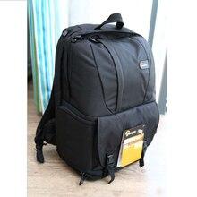 """חם למכור אמיתי Lowepro Fastpack 250 FP250 SLR דיגיטלי מצלמה כתף תיק 15.4 """"אינץ מחשב נייד עם כל מזג אוויר גשם כיסוי"""