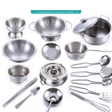 Kids House Kitchen Toy Cooking Cookware