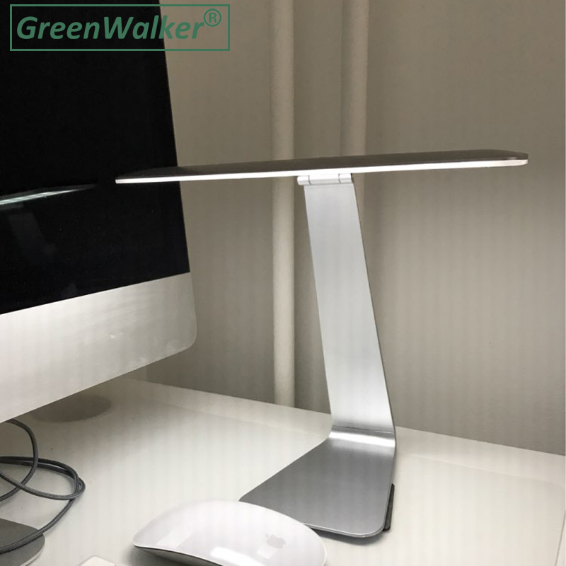 Greenwalker Яркость настольные лампы настольные свет светодиодный Перезаряжаемые офисные сенсорный Свет Ночной рабочего стола офисного освеще...