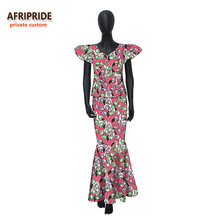 アフリカクラシック アンクル丈スカート女性セット  個女性