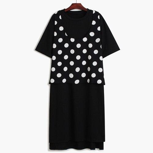 Dot Women TwoPiece Dress...