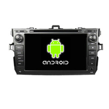ROM 16G Quad Core 1024*600 Android 5.1 Fit Toyota COROLLA 2006 – 2010 2011 Car DVD Player Navigation GPS Radio WIFI Bluetooth