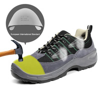 Anti smashing Safety Shoes Men Construction Casual Breathable Steel Toe Shoes Working Soft Bottom Safety Equipment