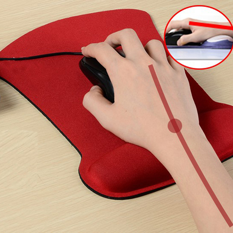 Newest Soft Sponge Wrist Support Mouse Pad Gamer Computer Durable Comfy Mouse Mat For PC