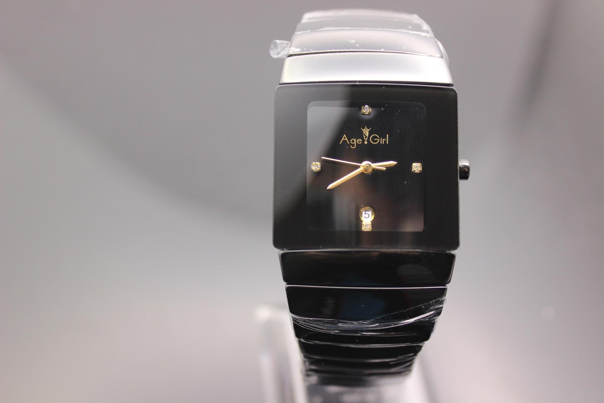 Montres en Céramique de haute qualité décontracté quartz Gent Montre robe Ceramica Noir montres-bracelets amants amoureux table Bracelet
