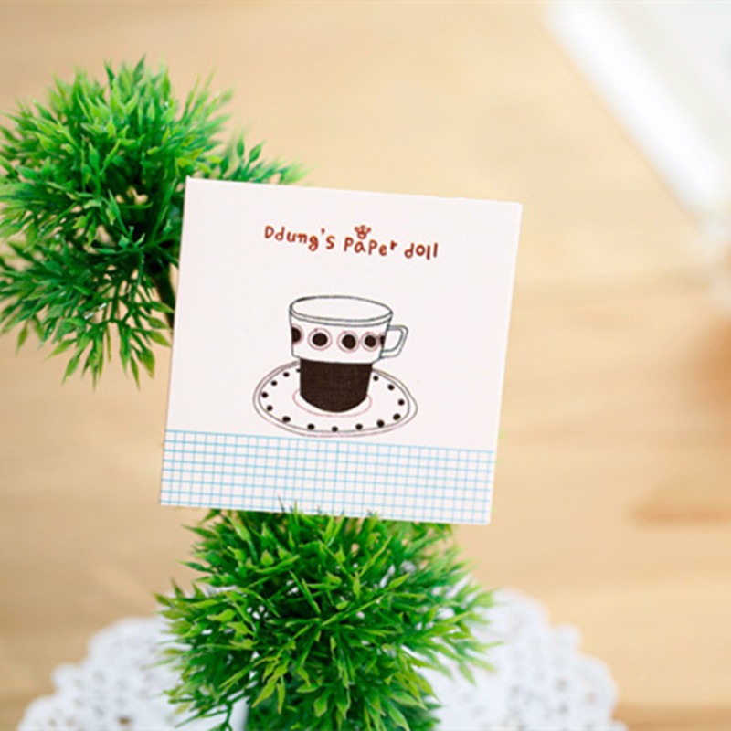 Korean Birthday Card Greeting Cards Mini Message Card Patterned New