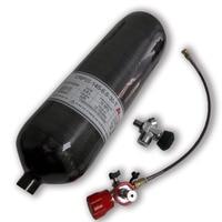 AC368301 Airgun 6.8L Black Airforce Condor Composite Cylinder Paintball Tank Scuba Bottle Carbon Fiber Air tank 4500Psi Pcp