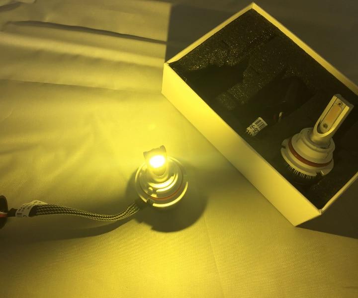 YY 72W 7600LM COB Chip Super Bright Car Light Auto lamp 6000K 3000K - Car Lights - Photo 2