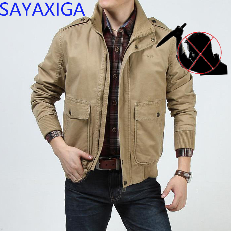 Imported From Abroad Self Defense Men Clothing Anti Stab Cut Resistant Anti Sharp Blade Outfit Police Casual Fleece Cotton Jacket Coats Cutfree Tops Customers First Jackets & Coats