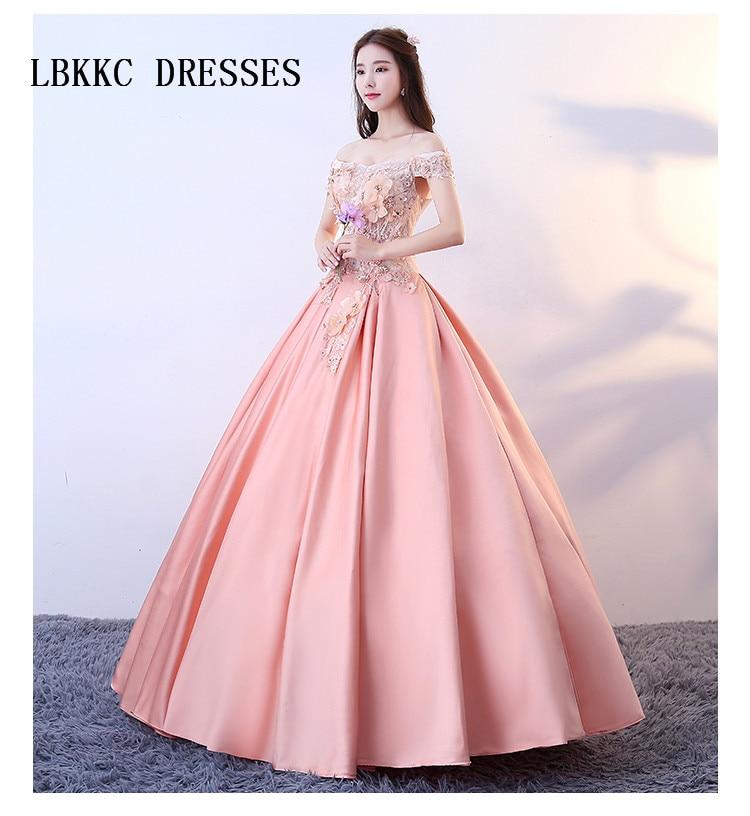 Us 11935 23 Offcoral Quinceanera Ball Gown Dress Satin Vestidos De 15 Anos De Debutante Vestidos Para Quinceanera 2018 In Quinceanera Dresses From