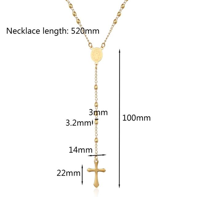 Фото ожерелье из нержавеющей стали с подвеской крестом овальный кулон цена