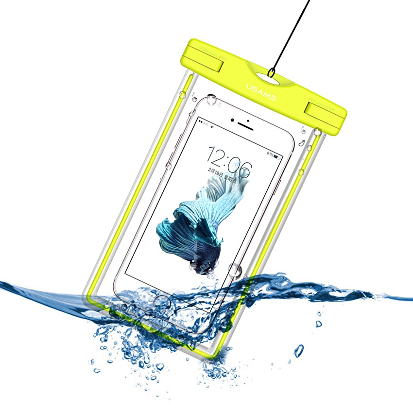 Luminous waterproof phone Pouch with Adjustable Waist Strap for 360 N6 Lite Pro for XOLO Era 1X Pro 2V 2X 3X 3 for Yezz 4.5E LTE