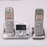 Telefone sem fio digital com handfree correio de voz retroiluminado lcd fixo sem fio para escritório casa bussiness|Telefones| |  -