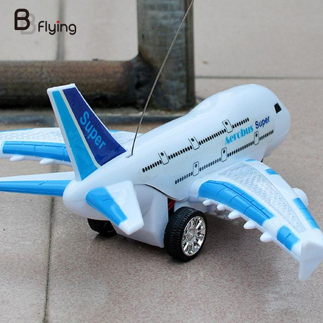 Free Shipping Remote Control Airplane Fixed Wing Plane Outdoor Drone Toys Random Color
