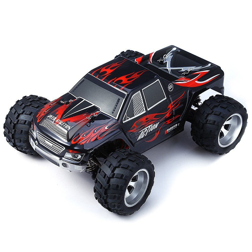 RC Wltoys A979 Toys For High Speed 50KM/H 1:18 Shock Resistant Electric 2.4 GHz 4WD Monster Machine On The Remote Control RC Car