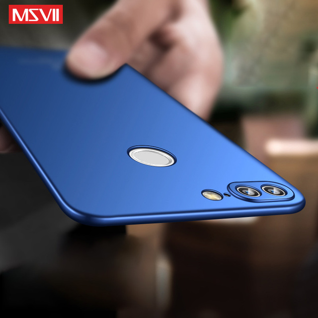 timeless design f0e27 674bf US $3.86 21% OFF|huawei honor 9 lite case MSVII Brand silm cover huawei  honor 9 case hard PC Back cover For huawei honor View 9 phone case  honor9-in ...