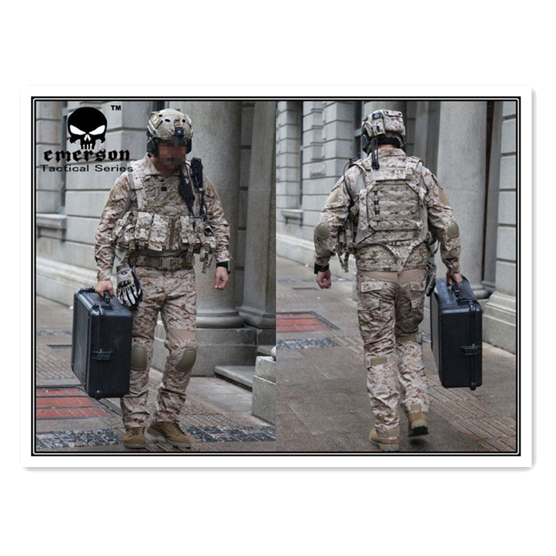Emerson gear Airsoft gen2 BDU Navy Seals AOR1 ACT OF VALOR Army uniform Military Combat Uniform Suits EM6914 emerson military army uniform combat uniform gen2 marpat woodland em6913
