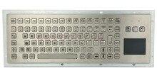 IP65 Rugged Kiosk Metal Industrial Keyboard With Touchpad Function Keys