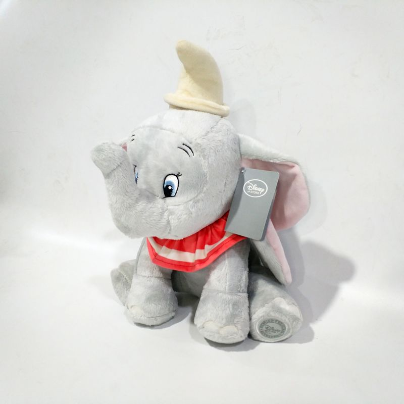 Cute Cartoon Dumbo Elephant Doll Stuff Plush Toy Children Birthday Gift 45cm