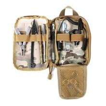 Уличная сумка нейлоновая походная Военная Тактическая Сумка камуфляжная походная сумка для хранения