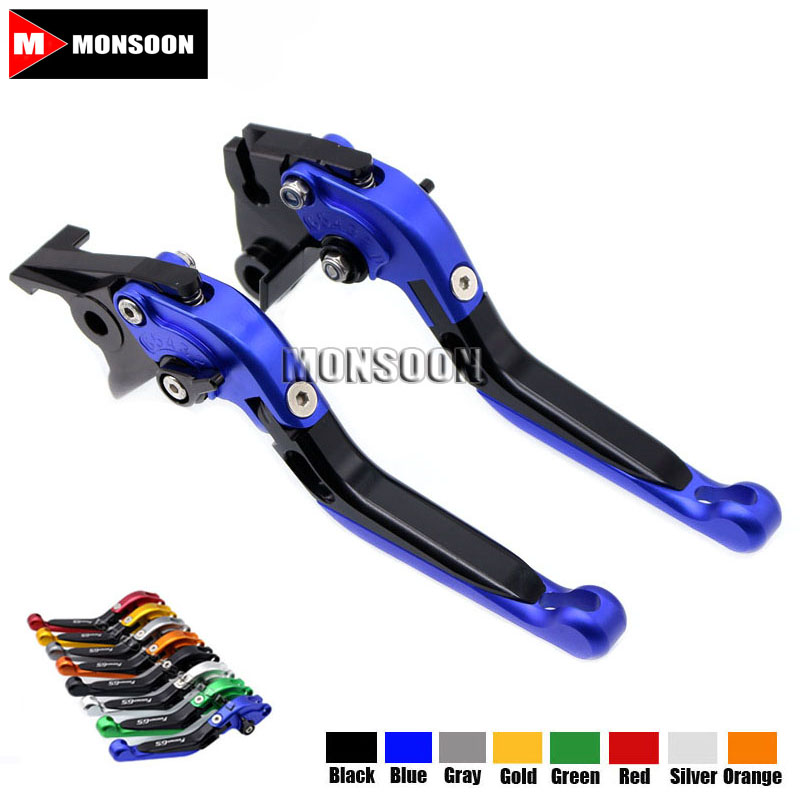 For Aprilia CAPONORD / ETV1000 2002-2007 RST1000 FUTURA 2001-2004 Motorcycle Accessories Folding Extendable Brake Clutch Levers adjustable cnc billet short folding brake clutch levers for aprilia caponord etv1000 2002 2007 03 05 06 rst1000 futura 2001 2004