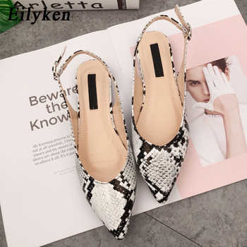 Eilyken New Serpentine Women's Flats Shoes Sandals For Spring 2019 Mules Flats Shoes Women's Buckle Strap Loafers Sandals - DISCOUNT ITEM  42% OFF All Category