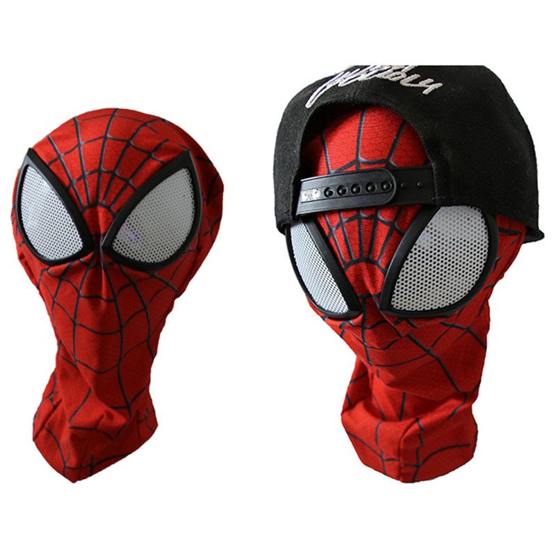 3D Spiderman Mask Adult Spider-man Lenses Cosplay Costumes Halloween Purim Masks